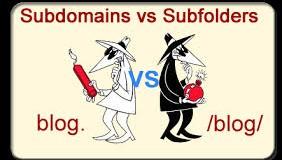 subdomain-subfolder