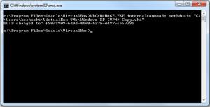 VirtualBoxCMDOutput