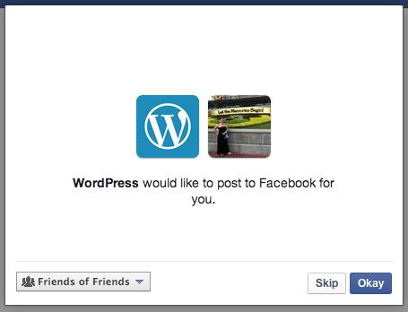Xác nhận lần cuối trước khi cho ứng dụng truy cập thông tin facebook