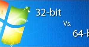 Windows 7 32-bit or 64-bit