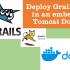 Deploy Grails apps in an embedded Tomcat Docker