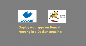 Deploy web apps on Tomcat running in a Docker container