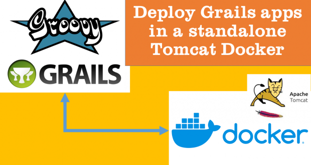 Dockerise Grails apps in a standalone Tomcat Docker container